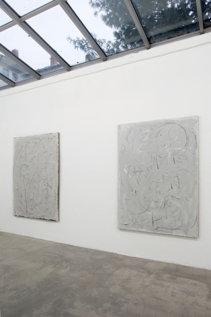 Installation view, Liat Yossifor at Galerie Anita Beckers, 2013
