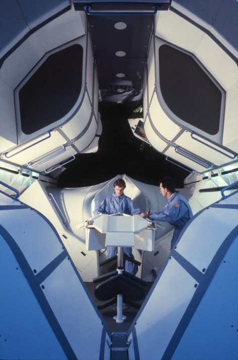 Space Station Wardrobe Prototype, Future Systems (1987-88)