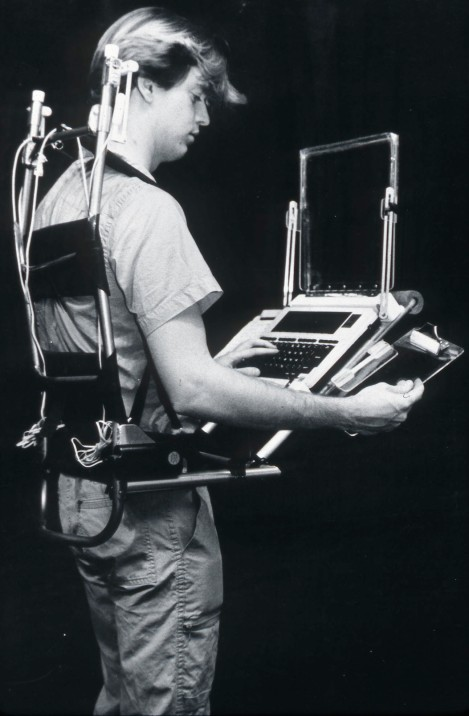 Portable/Wearable Workstation (1987)