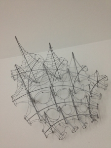 Tensile Structure Wire Model