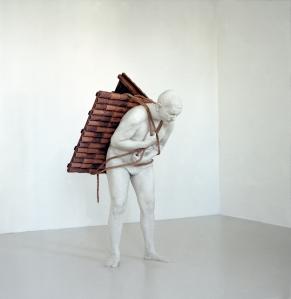 Home to go. 2001. Adrian Paci. Courtesy Peter Blum Gallery, New York.