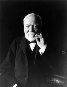 Andrew Carnegie (1913). Photo: Theodore C. Marceau. Courtesy of The Library of Congress.
