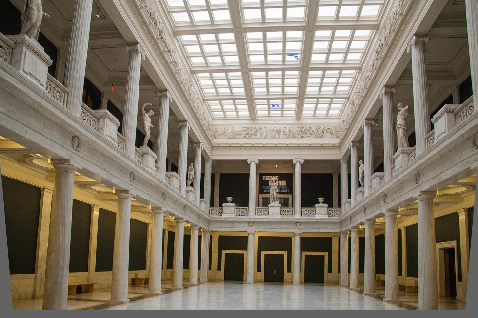 The Hall of Sculpture at The Carnegie Museum of Art. Photo: Frank Kovalchek. Creative Commons.