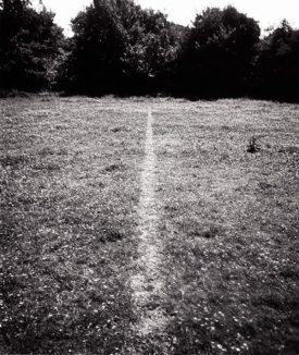 A Line Made By Walking (1967) – Richard Long